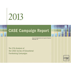 CASE Campaign Report 2013