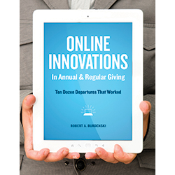Online Innovations in Annual and Regular Giving: Ten Dozen Departures That Worked